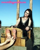 Gothic Soles Tickled 24 by jason9800player2