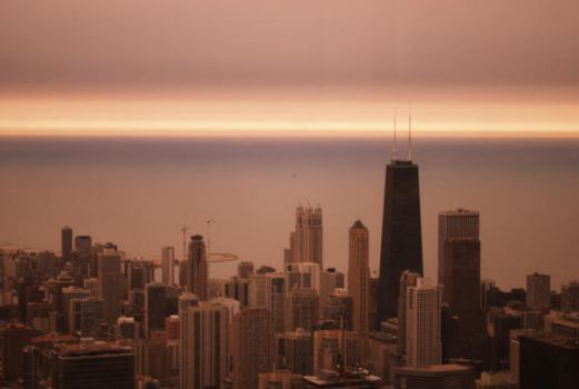 Pink Chicago by karpuzz