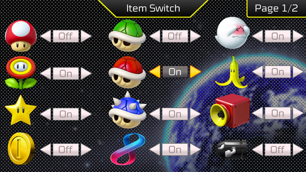 Mario Kart 8 Deluxe Item Switch Concept by Waluigifan32