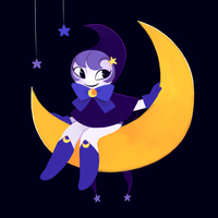 The Moon Maiden by OhThatNK