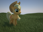 mlp series: applejack by krz9000