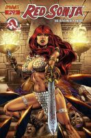 Red sonja color by ronadrian