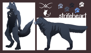 strifeheart ref by Appletail