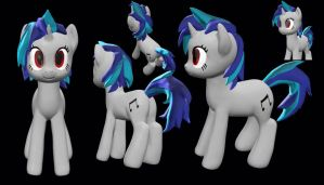 DJ PON-3D by CountCarbon