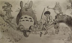 My Neighbour Totoro by graeme94