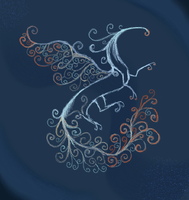 Swirly Dragon [Free Background Image] by AmethystCreatures