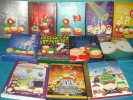 SP collection 1: DVD's by friendly-faces