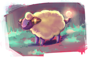 Mareep by MusicalCombusken