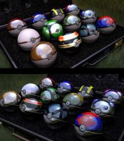 Choose your pokeball -views pre render- by Rynosa