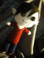 Marshall Lee Plush by LocoOmoKatze
