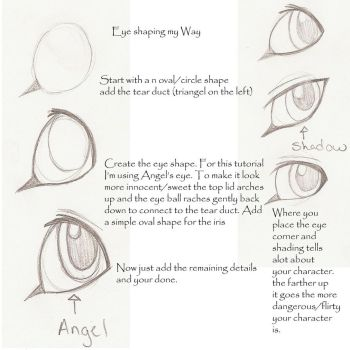 Lion/Cat Eye tutorial by WingsandFeathers