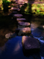 stepping stones by ulfthewolf