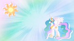 Princess Celestia Wallpaper by RowlingFan12