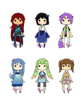 Mini Adopts (OPEN) //Reduced prices by Mittsu-chan
