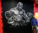 The Rock Wall Painting by AtomiccircuS