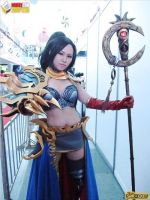 Diablo III Wizard Cosplay at HobbyCon 2012 by jnalye