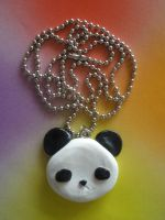 Panda Necklace by ChibiWorks