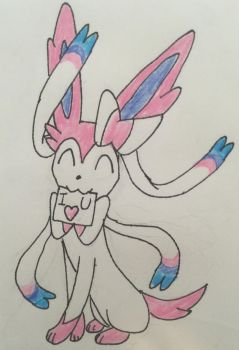 Sylveon loves you!  by FCmania
