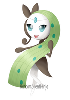 Pokemon - Meloetta by RandomSilentNinja
