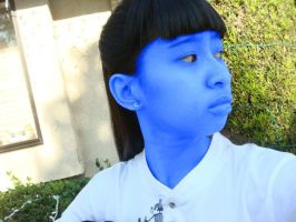 My whole skin is blue after I was juiced by Magic-Kristina-KW