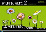 Wildflowers 2 dock icons by Carburator