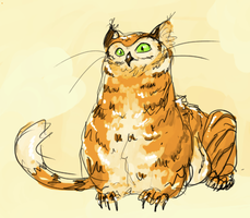 further owl tiger by ormery