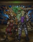 Shao Kali and Sindan by faceaway