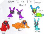 Bear in the Big Bunny House by BITBBH-Lover98