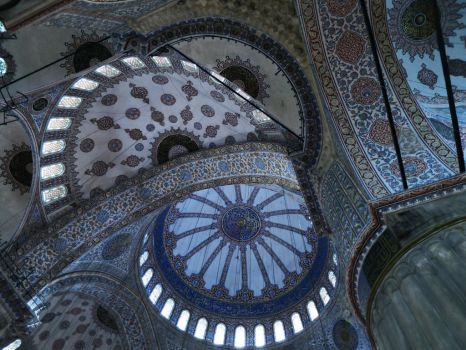 Blue Mosque, Istanbul by fables1111