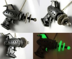 Alien Repellent Ray Gun 2 by NeverlandJewelry