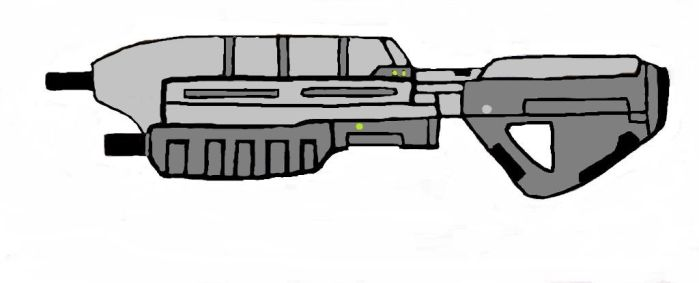 MA5C Assault Rifle by StormCoyote16