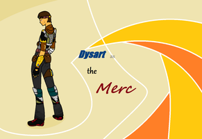 Dysart as the Merc by Dysartist