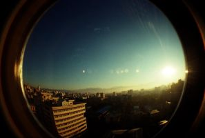 LOMO dawn by ili0207