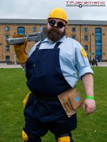 24 Oct MCM LON Team Fortress 2 BLU Engineer by TPJerematic