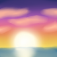 SAI Practice: Sunset by demonchick25