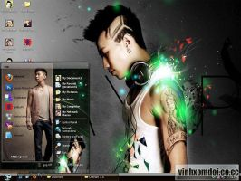 Jay Park Theme for XP by vinhxomdoi