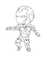 IRON MINI MK VI (Lineart) by b-dangerous
