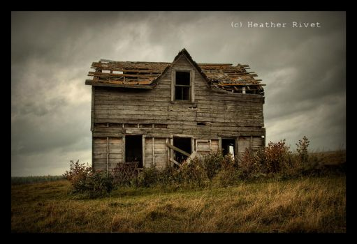 House On The Hill by HeatherWaller-Rivet