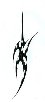 Tattoo: Tribal weapon by AlphonseCapone