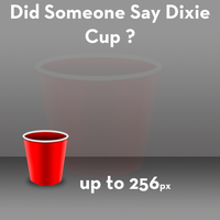 Dixie Cup icon by Robgimp