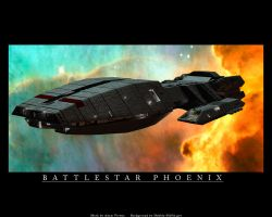 Battlestar Phoenix by casivona