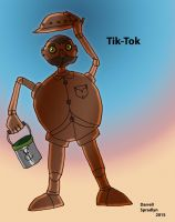 Tik Tok the Mechanical Man by saintfighteraqua