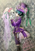 Ciel Phantomhive coloring by Embolia