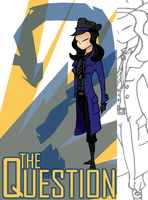 The Question: Renee Montoya by fckm0nkey