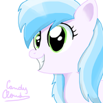 Candy cloud smiling by clari999