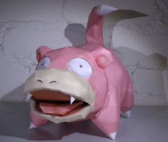Slowpoke by jewzeepapercraft