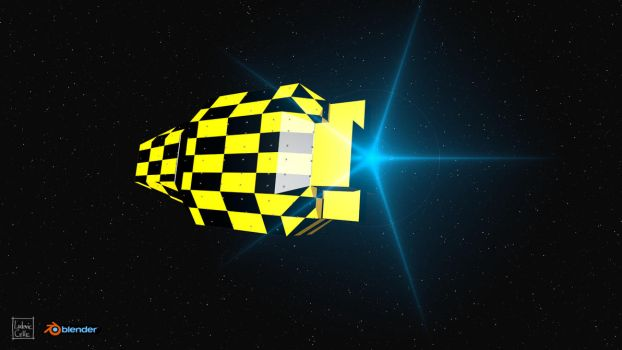 Tribute to Chris Foss by Ludo38
