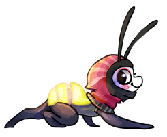 Lightning bug by griffsnuff