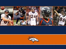 Simplistic Broncos Background by cotrackguy