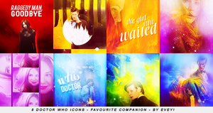 Doctor Who icons by Evey-V